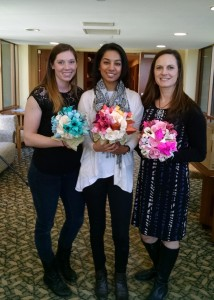 Kayleigh Smith, Joyce Kutty, and Michelle Turner