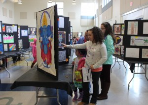 Visitors enjoying our scholar art gallery