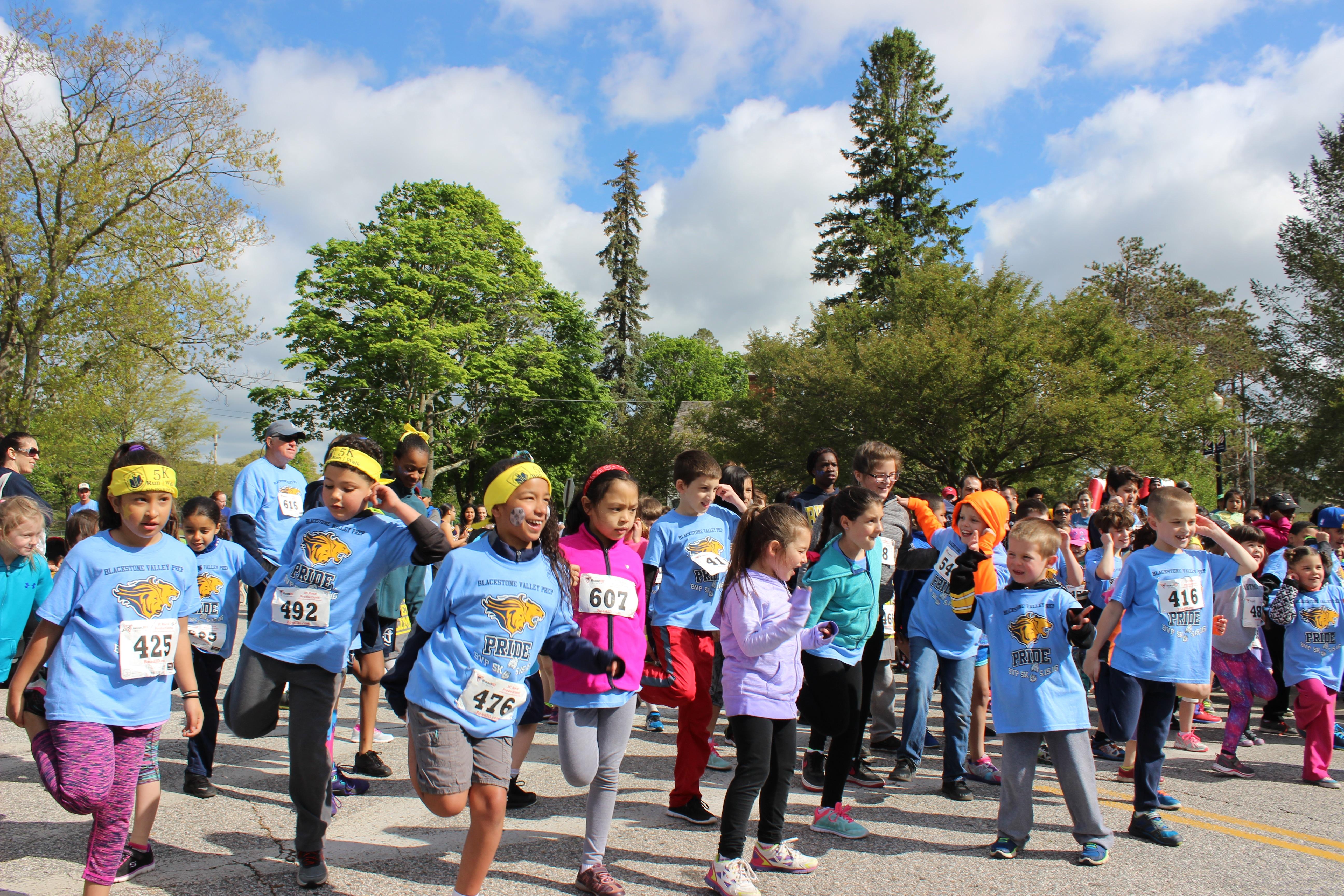 5k race participants