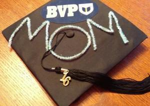 BVP Mom Graduation Cap - 5.26.16