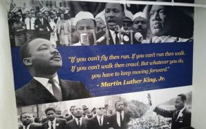 Dr. Martin Luther King Jr. wall quote