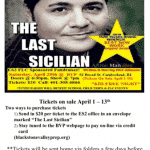 Flyer for The Last Sicilian