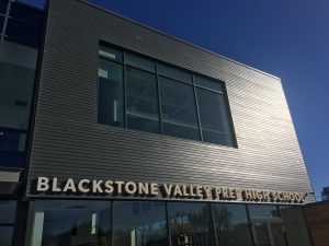 Blackstone Valley Prep High School Exterior