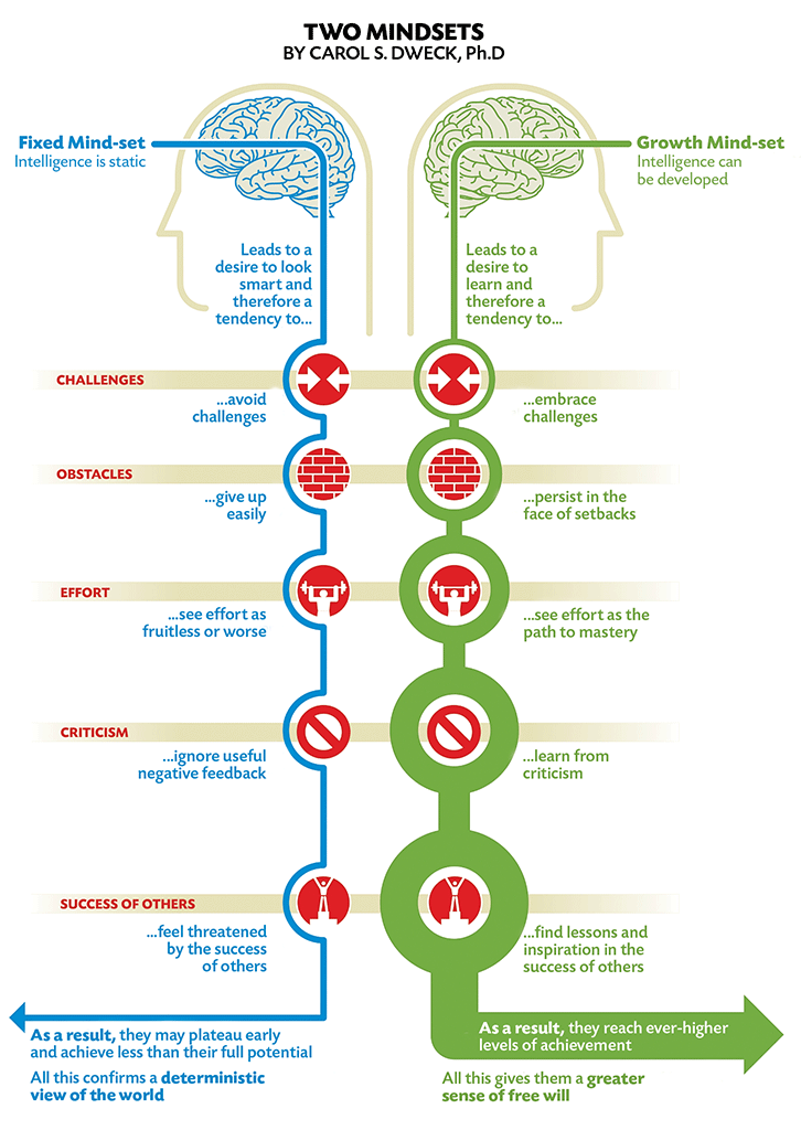 Two Mindsets Diagram