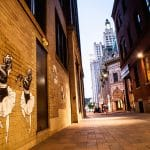 Photo of Keri King's murals in Providence