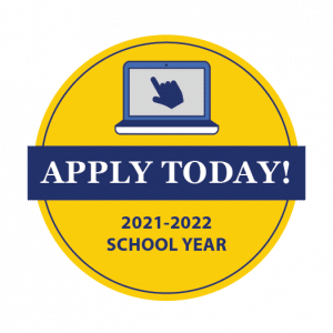 Apply Today for the 2021-2022 School Year