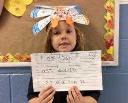 #BVPisThankful: Kindergartners Give Thanks